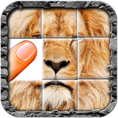 Puzzle for kids : animals jigsaw icon