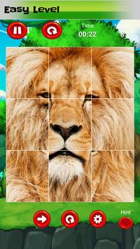 Puzzle for kids : animals jigsaw poster
