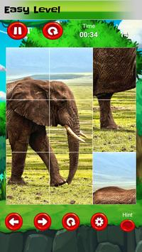 Puzzle for kids : animals jigsaw screenshot 10