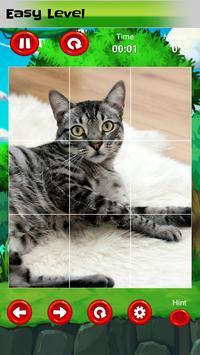 Puzzle for kids : animals jigsaw screenshot 1