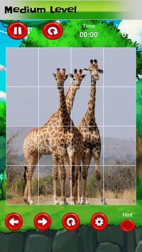 Puzzle for kids : animals jigsaw screenshot 6