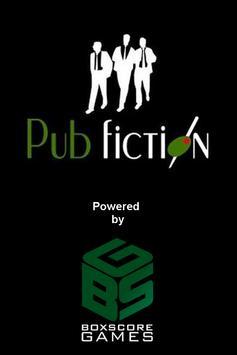 Pub Fiction poster