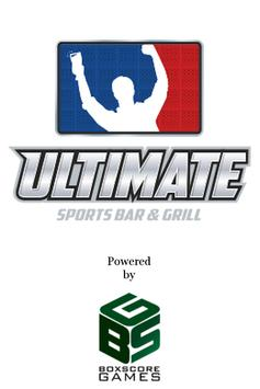 Ultimate Sports Bar & Grill poster