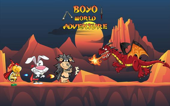 Boyo's World Adventure poster