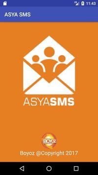 Asya Toplu SMS Rehber poster