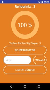 Asya Toplu SMS Rehber screenshot 2