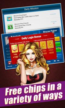 Boyaa Texas Poker for Kakao apk screenshot