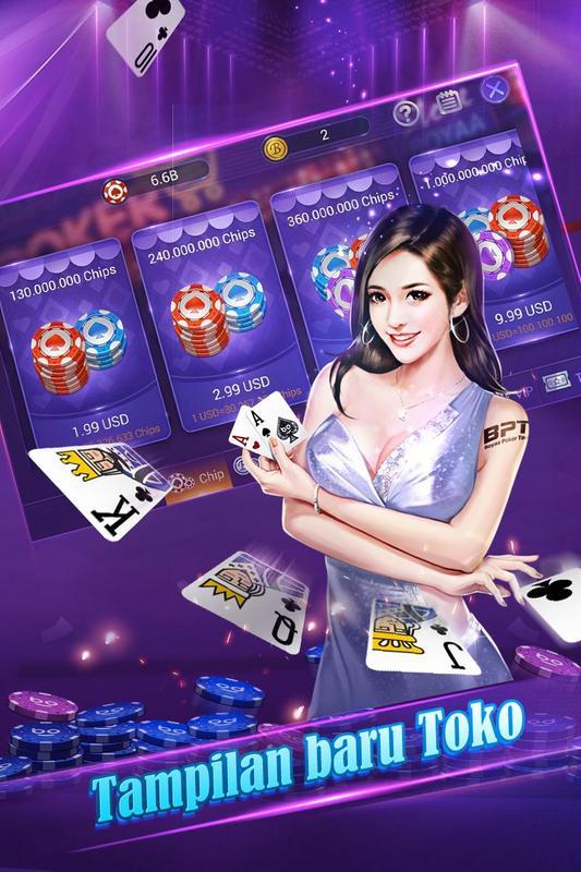 Download poker texas boyaa mod apk
