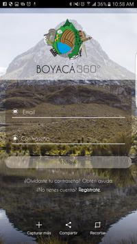 Boyacá en 360 poster