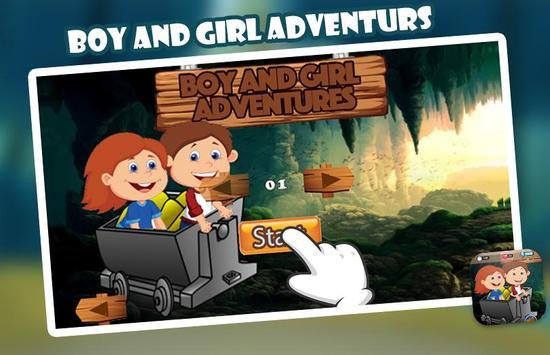 Boy And Girl Adventures apk screenshot