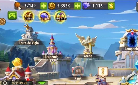 Pro Guide Magic Rush Heroes screenshot 1