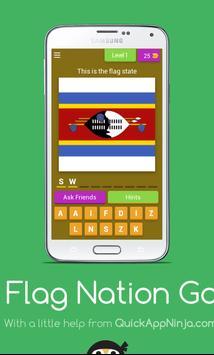 Flag Nation Game poster