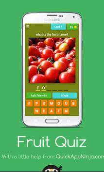 Fruit Quiz Game apk screenshot