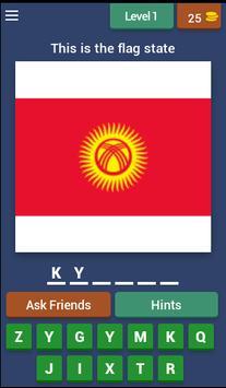 World Flag Game poster