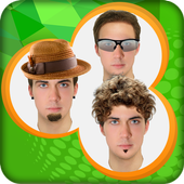 Boys Makeover : Face Effects icon