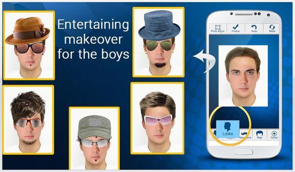 Boys Makeover : Face Effects apk screenshot