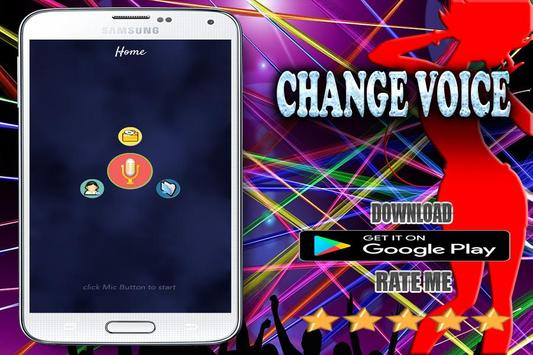 best voice editor with effects apk screenshot