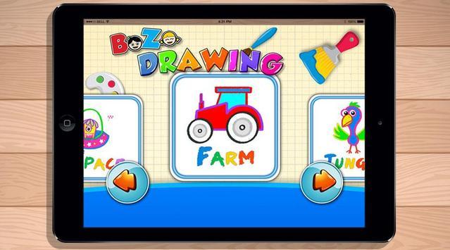 Bozo Drawing Free Games screenshot 12