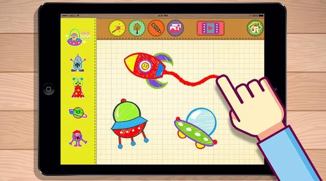 Bozo Drawing Free Games screenshot 1