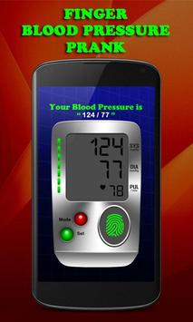Finger Blood Pressure Prank poster