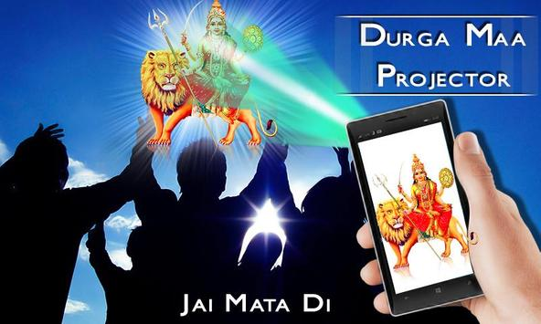 Durga Mata Projector Prank poster
