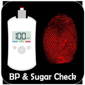 BP and Sugar Check Through Finger Prank icon