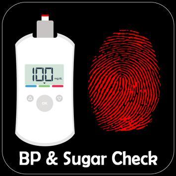 BP and Sugar Check Through Finger Prank poster
