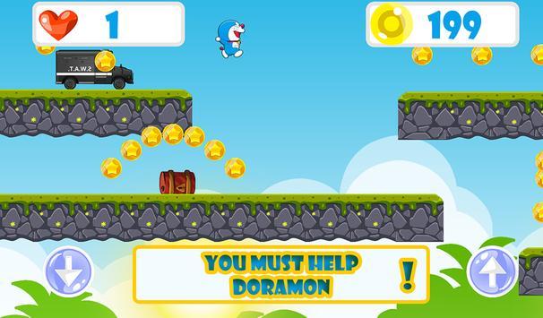 Doramon Adventure Run 2 screenshot 9
