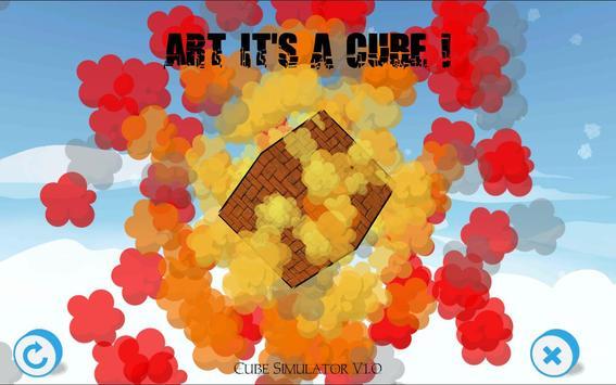 ART IT'S A CUBE poster