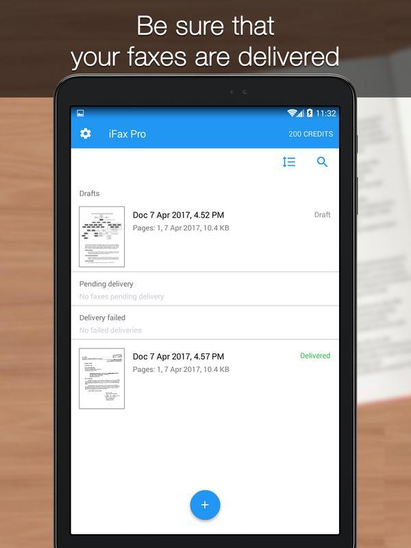 enviar fax grtis para android imagem de tela 7