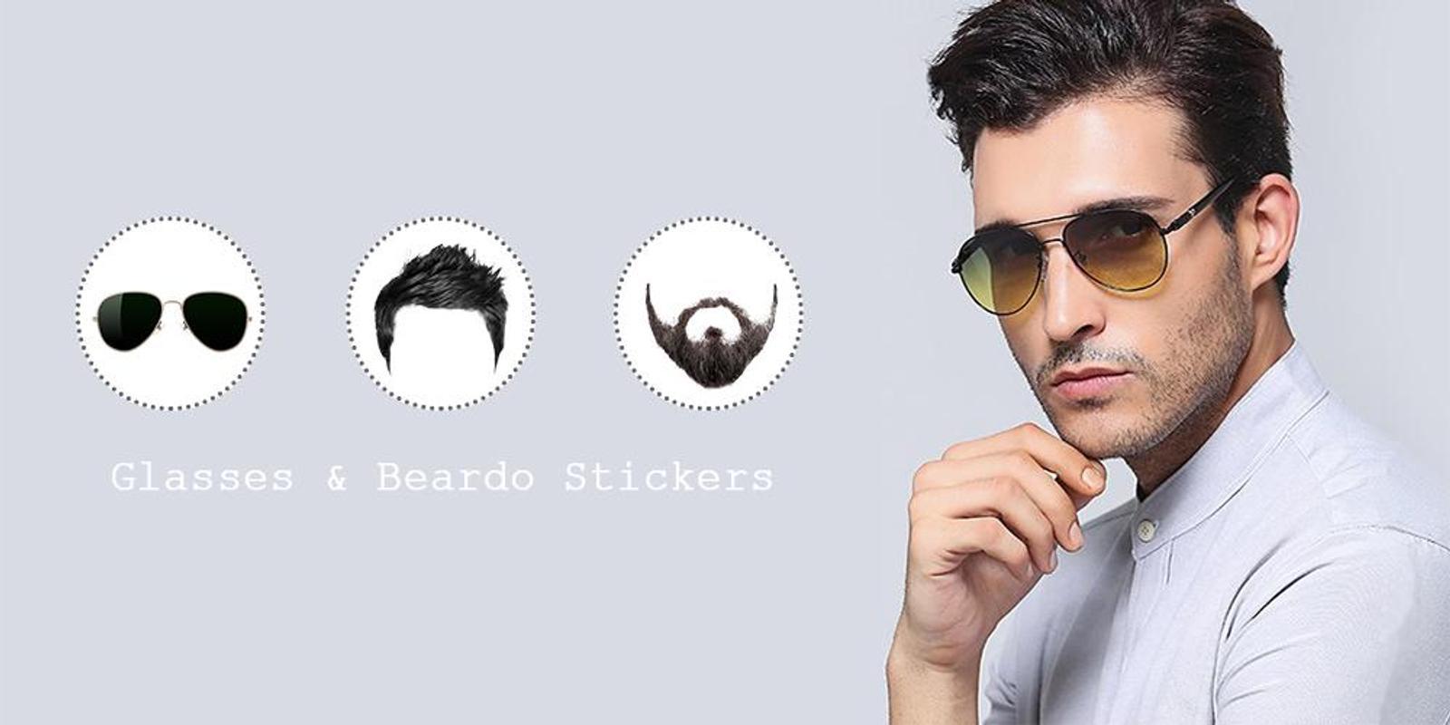 2dd7344dc8ec Glasses Photo Editor   Beardo Photo Frames for Android - APK Download
