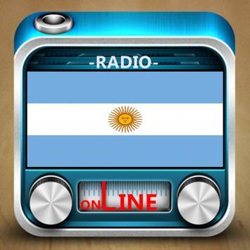 News radio stations Argentina poster