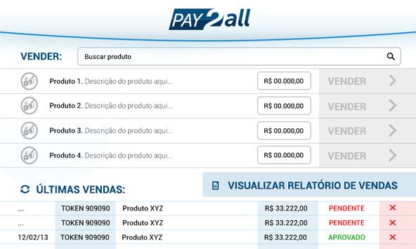 Pay2allLoja screenshot 1