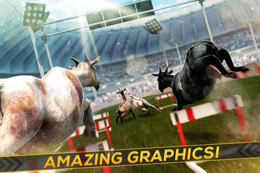 Athletic Goat - Stadium Race screenshot 1