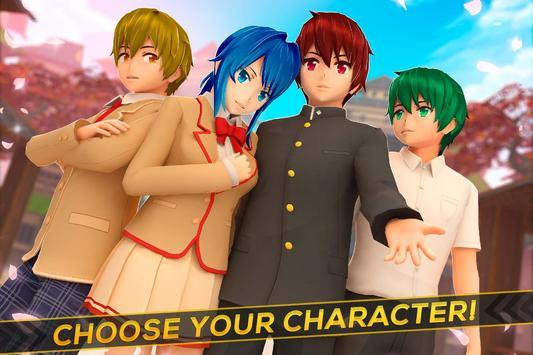 Anime Girl Run screenshot 2