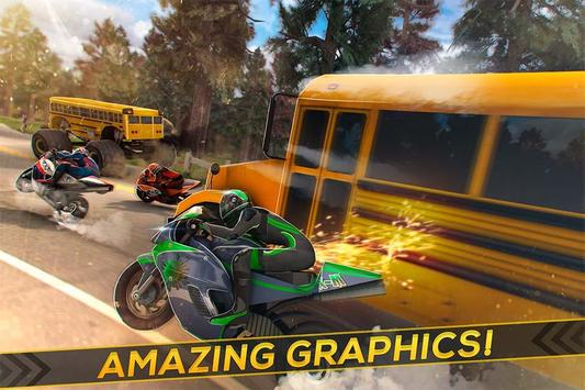 Bus Racing vs Moto GP apk screenshot