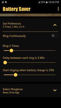 Battery saver – The ultimate battery Guard screenshot 3