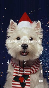 Cute Dog Theme For AppLock apk screenshot