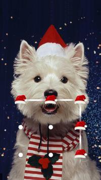 Cute Dog Theme For AppLock poster