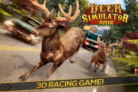 Deer Simulator 2016: Kids Game poster