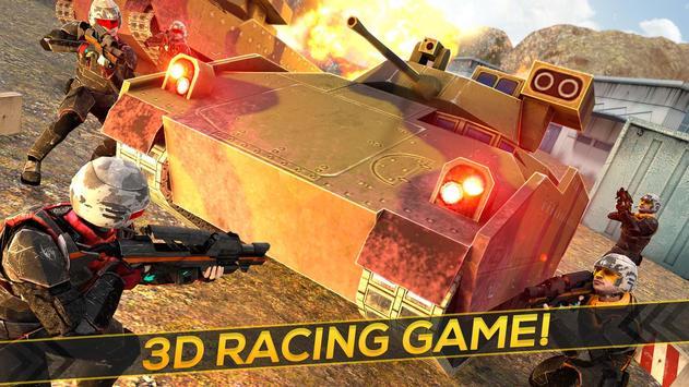Desert War of Tanks 3D apk screenshot