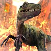 Dinosaur Jurassic Destruction icon