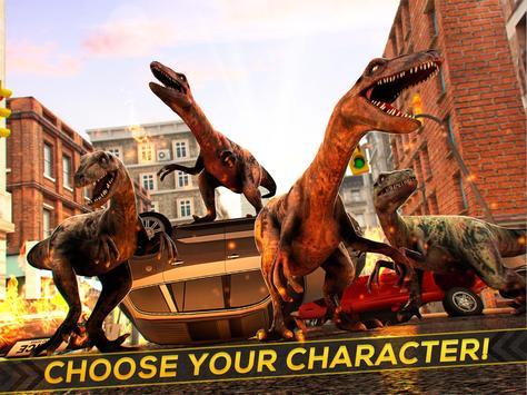 Dinosaur Jurassic Destruction apk screenshot