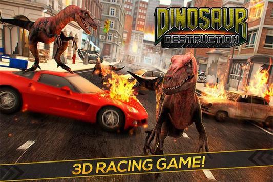 Dinosaur Jurassic Destruction poster