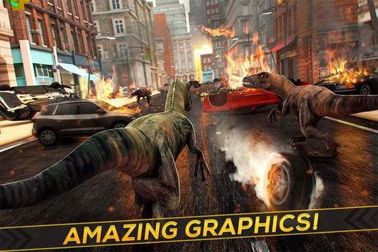 Dinosaur Jurassic Destruction screenshot 1