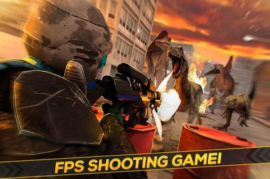 FPS Dinosaur Hunter Shooter poster