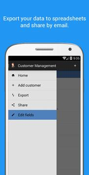 Customer Management screenshot 2