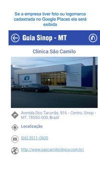 Guia Sinop apk screenshot