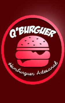 QBurguer Artesanal poster