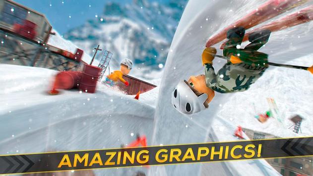 Real Ski ⛷ Jumps Hill apk screenshot